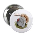 "World Class Turkey 2.25"" Button (100 pack)"