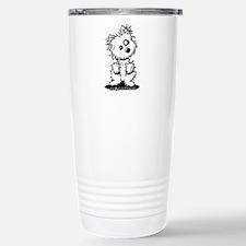 Zombie Westie Dog Travel Mug