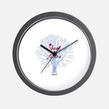 Shiver- Sam and Grace Wall Clock