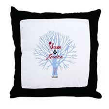 Shiver- Sam and Grace Throw Pillow