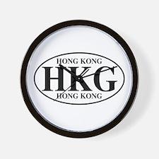 HKG Hong Kong Wall Clock