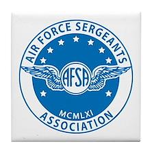 Air Force Sergeants Tile Coaster