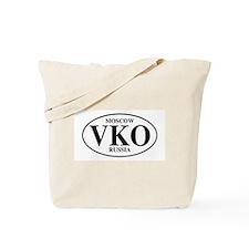 VKO Moscow Tote Bag