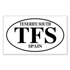 TFS Tenerife South Rectangle Decal
