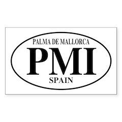 PMI Palma De Mallorca Rectangle Decal