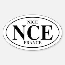 NCE Nice Oval Decal