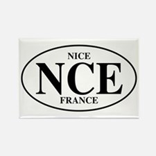 NCE Nice Rectangle Magnet