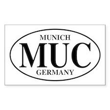 MUC Munich Rectangle Decal