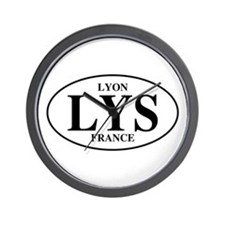 LYS Lyon Wall Clock