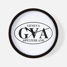GVA Geneva Wall Clock