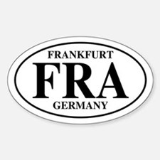 FRA Frankfurt Oval Decal