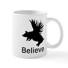 Flying Pig Small Mug