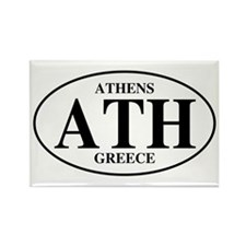 ATH Athens Rectangle Magnet