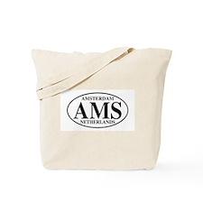 AMS Amsterdam Tote Bag