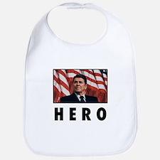 Ronald Reagan: HERO Bib