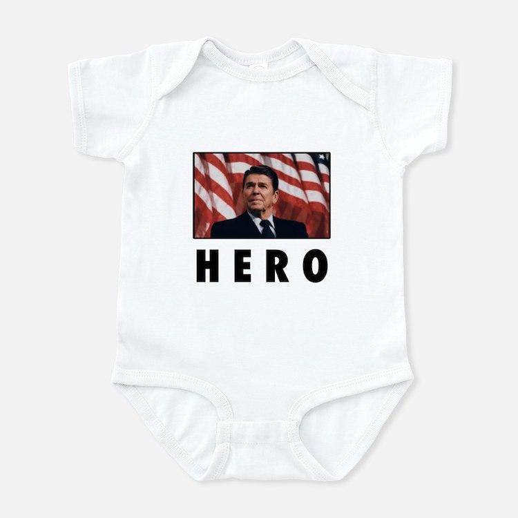 Ronald Reagan: HERO Infant Bodysuit