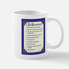 THE TEN COMMANDMENTS Mug