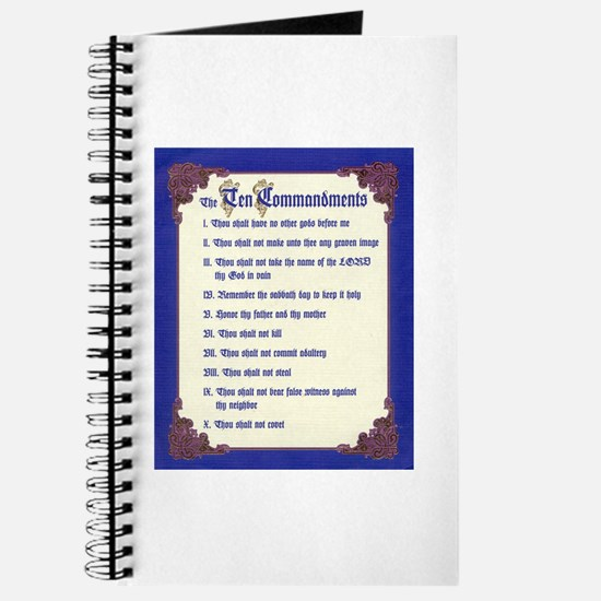 THE TEN COMMANDMENTS Journal