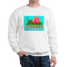 Precious Escargot by barnhartgallery - Sweatshirt
