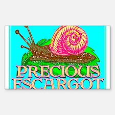 Precious Escargot by barnhartgallery - Decal