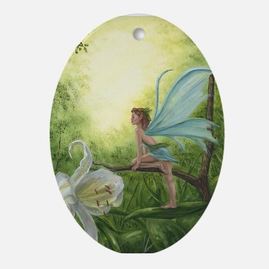 Spring Fairy Oval Ornament