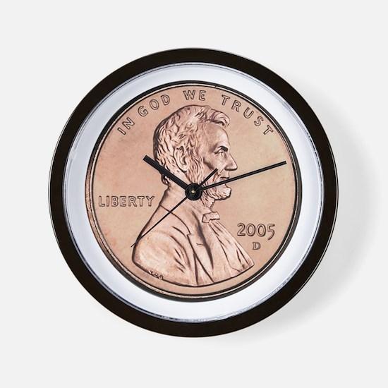 Cute Coin collectors Wall Clock