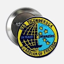 USS Ticonderoga CVA 14 Button