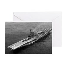 USS Ticonderoga Ship's Image Greeting Cards (Pk of