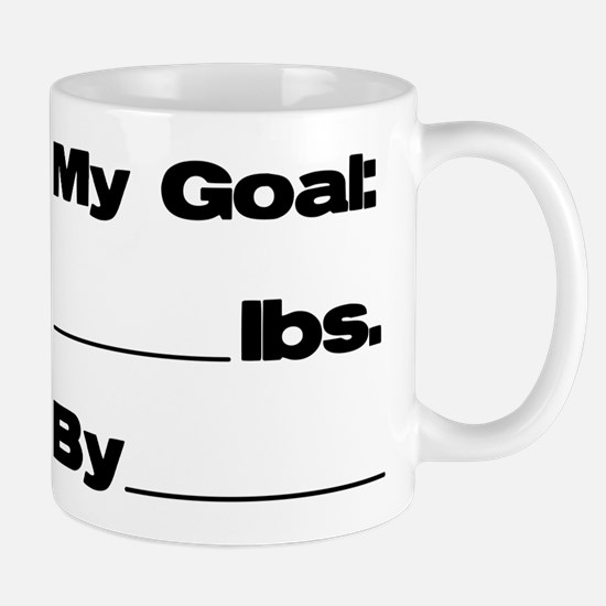 My Goal in Pounds Mug