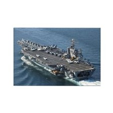 USS Theodore Roosevelt Rectangle Magnet