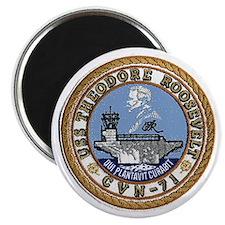 USS Theodore Roosevelt CVN 71 Magnet