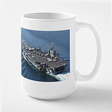 USS Theodore Roosevelt Large Mug