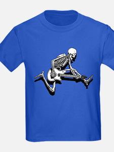 Skeleton Guitarist Jump T
