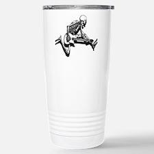 Skeleton Guitarist Jump Travel Mug