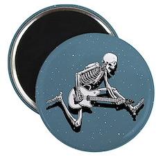 "Skeleton Guitarist Jump 2.25"" Magnet (10 pack)"