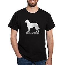 """""""Belgian Laekenois"""" - Black T-Shirt"""