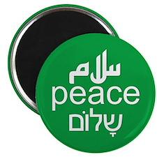 Peace Salaam Shalom Magnet