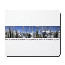 Park City on top of Deer Vall Mousepad