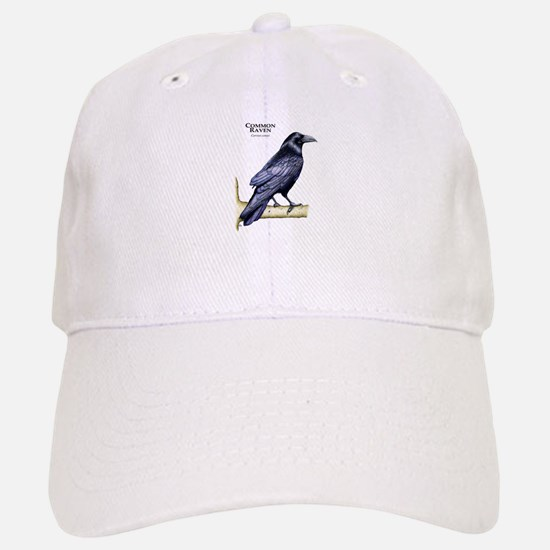 Common Raven Baseball Baseball Cap