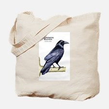 Common Raven Tote Bag