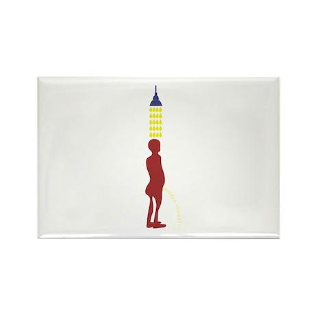 Golden Shower Rectangle Magnet (10 pack)
