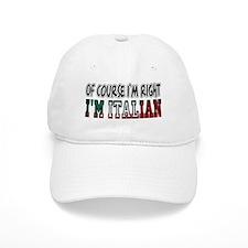 I'm Italian Baseball Cap