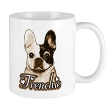 Frenchie - Pied Monochrome Mug
