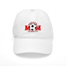 Proud Soccer Mom Baseball Cap