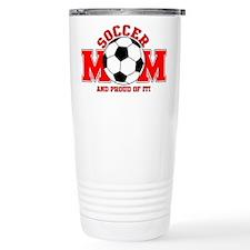 Proud Soccer Mom Travel Mug