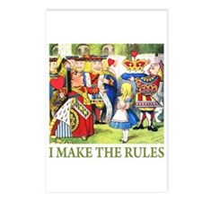 I MAKE THE RULES Postcards (Package of 8)