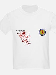 Unique Blood spatter analyst T-Shirt