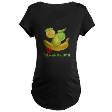 What the Fruit? Maternity Dark T-Shirt