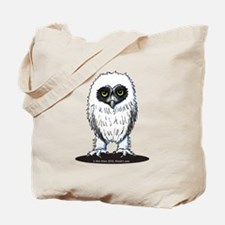 Young Spectacled Owl Tote Bag