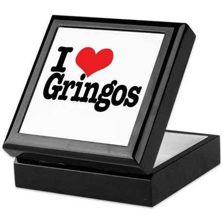 I love gringos Keepsake Box